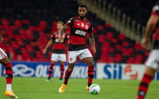 Gerson foi um dos destaques na vitória do Flamengo contra o Vasco