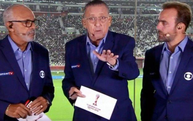 Galvão Bueno poderá voltar aos estúdios da Globo após ser vacina contra Covid-19