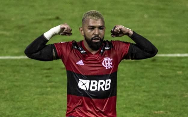 Os dois gols marcados na goleada sobre o Madureira tornaram Gabigol o maior artilheiro do Flamengo no século 21. Agora com 73 gols em 105 jogos o atacante divide o posto com Renato Abreu