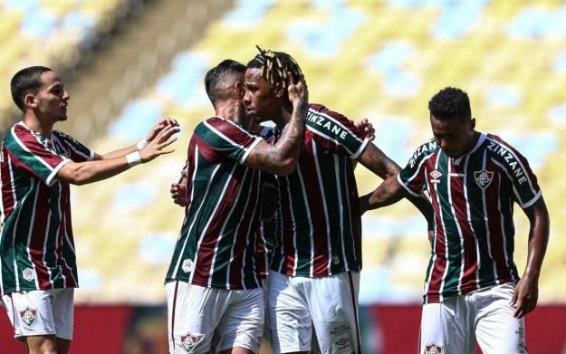 Fluminense goleou o Madureira por 4 a 1