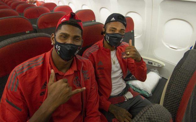 Flamengo chegando em Quito
