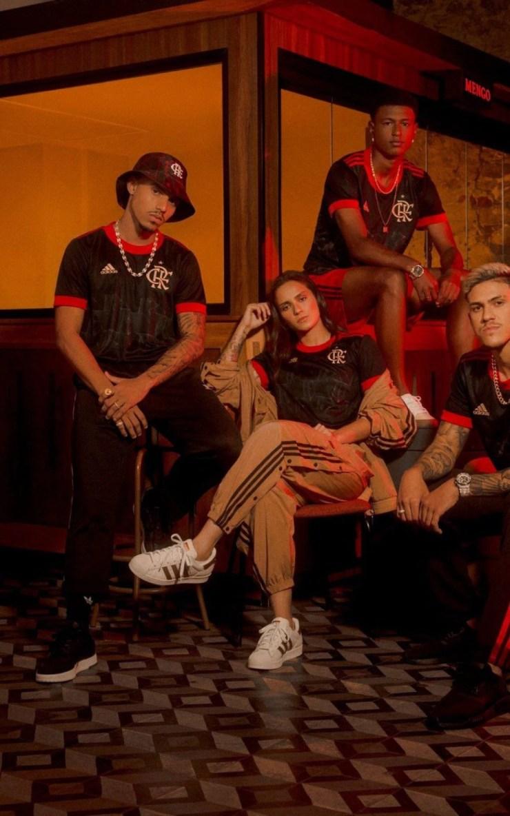 Nova camisa 3 do Flamengo para 2021