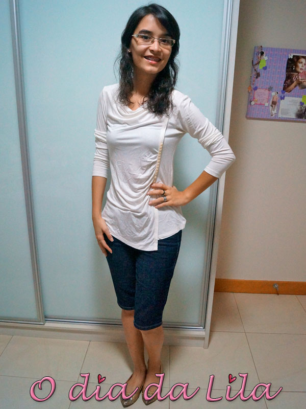 #lookdalila bermuda jeans