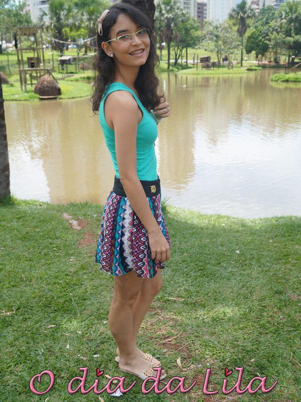 #lookdalila short-saia