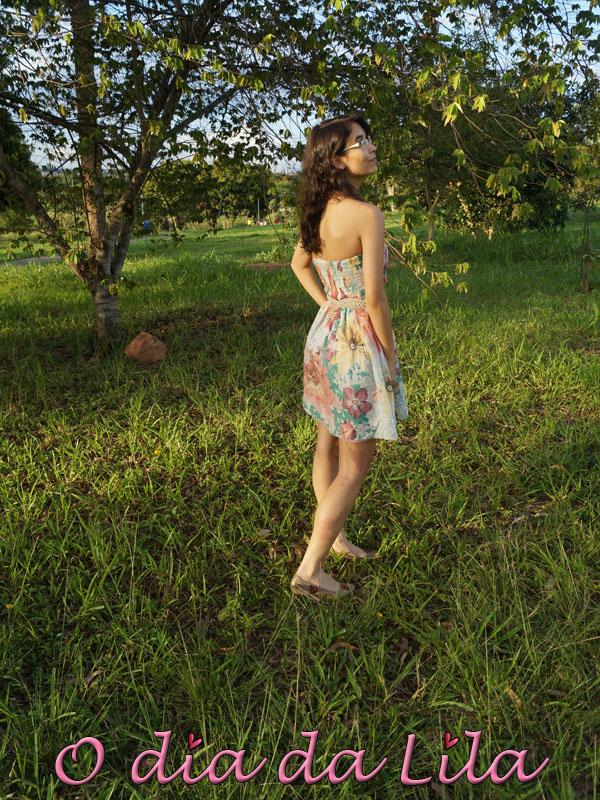 #lookdalila flores e joaninhas