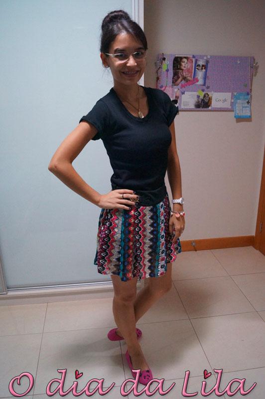 #lookdalila short-saia estampada3
