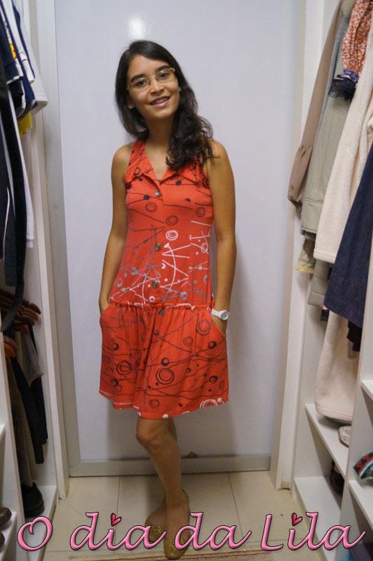 vestido estampado #lookdalila