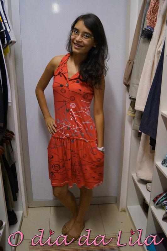 vestido estampado #lookdalila2