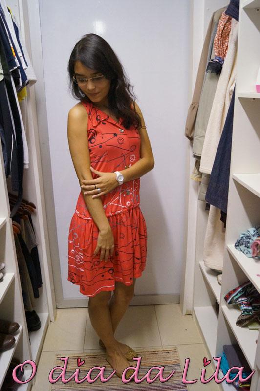 vestido estampado #lookdalila5