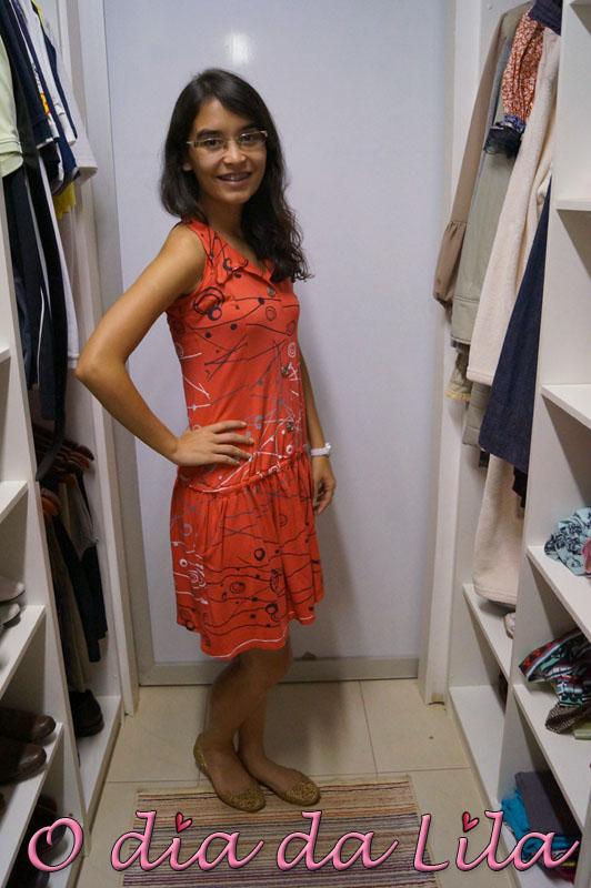 vestido estampado #lookdalila7
