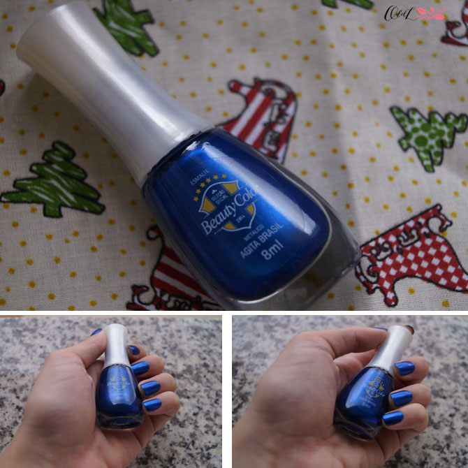 Esmalte azul royal Beauty Color