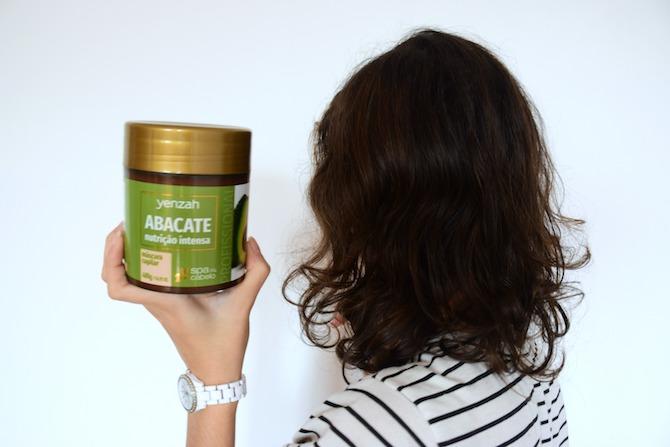 Abacate | Máscara Capilar | SPA do Cabelo Yenzah - O dia da Lila