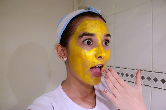 Hipernutrição facial | Máscara Gold 24k Avenca - O dia da Lila