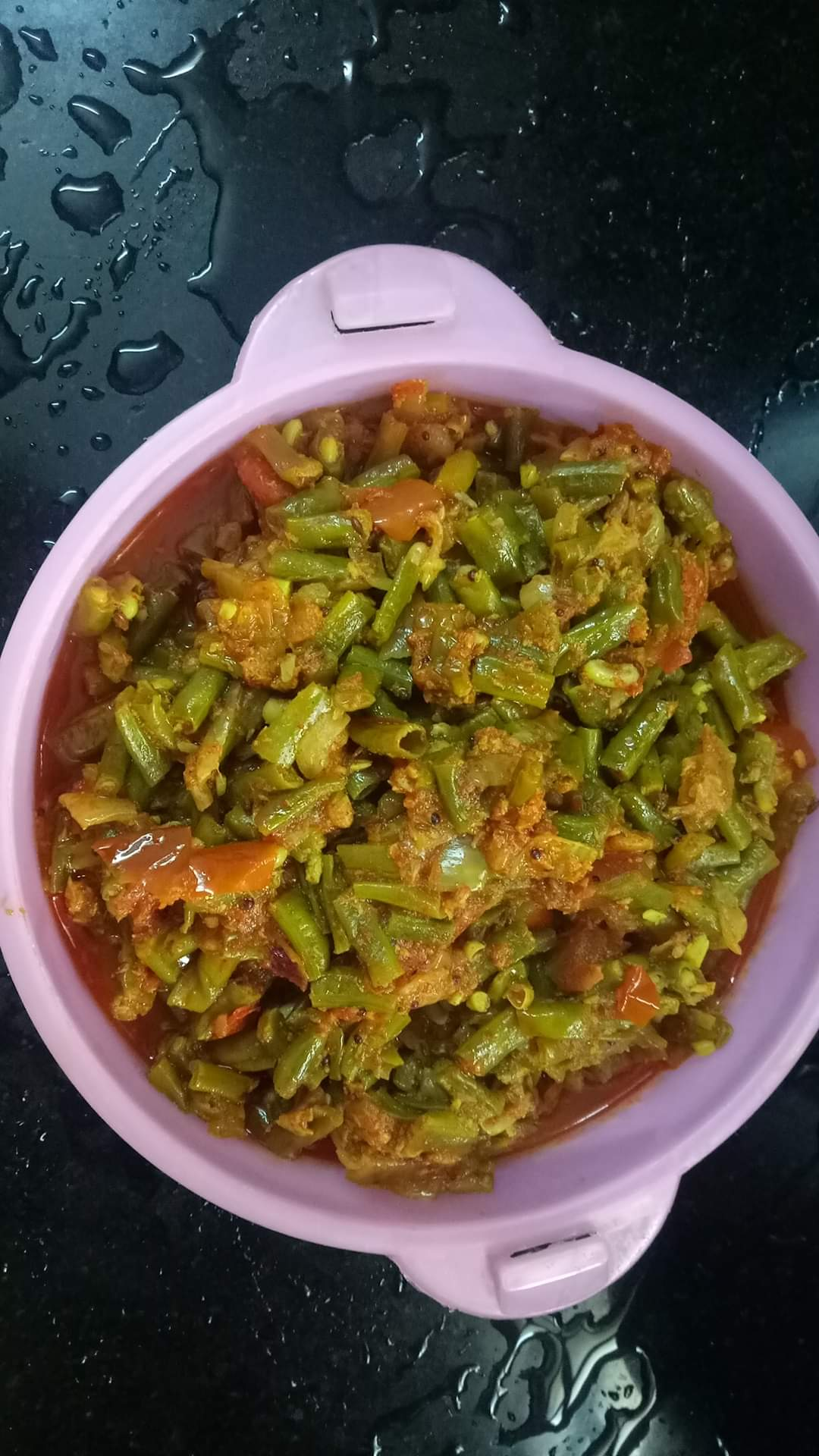 Coconut Long beans curry
