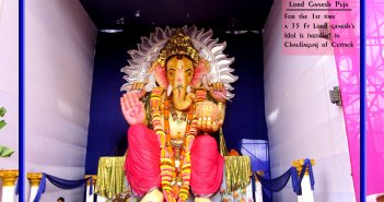 35 ft ganesh idol in cuttack