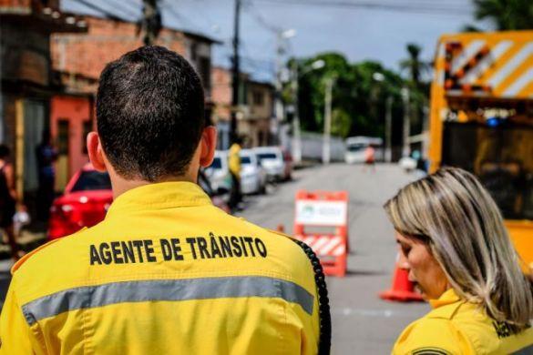 Rua Alcebíades Valente, no Farol, passará a ser mão única a partir do dia 04 de fevereiro. (Foto: Pei Fon / Secom Maceió)