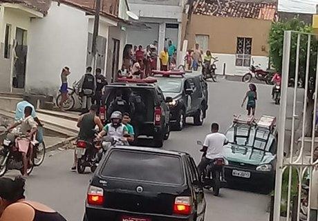 Ação policial foi deflagrada nesta quarta-feira (6), em União dos Palmares  (Cortesia)