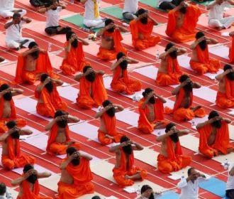 Dia Internacional do Yoga é celebrado pelo mundo