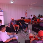 Presidente do CRB se reúne com jogadores e comissão técnica