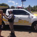 BPRv realiza Operação Rodovia Segura durante todo o domingo