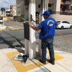 Fiscalização da Semscs combate poluição visual em Maceió