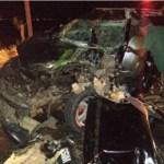 Colisão entre dois veículos deixa feridos na AL-220, em Arapiraca