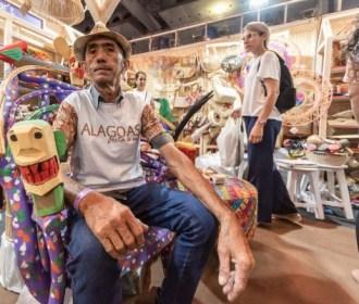 Nove artesãos alagoanos expõem suas peças em feira nacional em Belo Horizonte