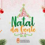 Natal da Gente: Acender das luzes na região dos Canais acontece nesta quinta-feira (05)