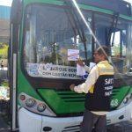 Ônibus que acidentou idosa é retirado de circulação