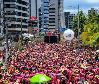 Programação diversificada agita o Carnaval na orla de Maceió
