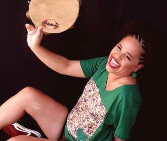 Mel Nascimento e as Mulheres na Roda de Samba se apresentarão nesta sexta, 21, na pizzaria Santorégano