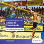 Atletas do vôlei de praia estarão na tarde desta quarta, 11, dando autógrafos em shopping de Maceió