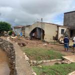 Cheias resultam em 2500 pessoas desabrigadas e 8 mil desalojadas em Santana do Ipanema