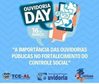 """TCE/AL realiza o evento nacional """"Ouvidoria Day"""""""