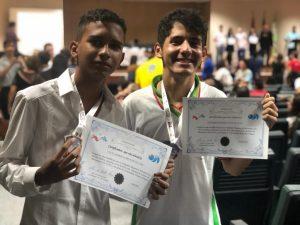 Estudantes deodorenses recebem medalhas por destaque na Olimpíada Brasileira de Matemática
