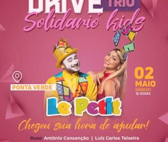 Drive Trio Solidário volta em dose dupla neste fim de semana