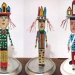 Lagoa da Canoa: artesão vive da arte ecologicamente correta