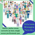 #Elogie Mais: campanha promove apoio aos profissionais da Saúde