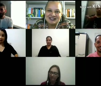 Sinais de conversa: série de roda de conversa virtual em Libras