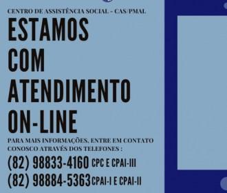 Centro de Assistência Social da PM oferta atendimento on-line para militares e familiares