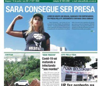 SARA CONSEGUE SER PRESA