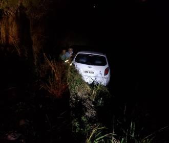 Condutor inabilitado se envolve em acidente em trecho da AL-220, em Limoeiro de Anadia