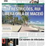 COM RESTRIÇÕES, RUI LIBERA ORLA DE MACEIÓ