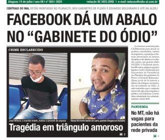 """FACEBOOK DÁ UM ABALO NO """"GABINETE DO ÓDIO"""""""