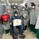 Hospital de Campanha: pacientes recuperados da Covid-19 recebem apoio de voluntários em Arapiraca
