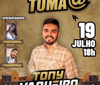 Tony Vaqueiro realiza live solidária neste domingo