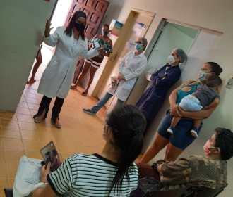 Julho Amarelo: USF do São Jorge realiza ação de prevenção às hepatites