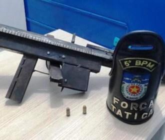 5º BPM apreende arma de fogo no bairro do Canaã