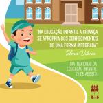 Unidade de Educação Infantil da Ufal promove projetos virtuais com as crianças