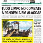 TUDO LIMPO NO COMBATE À PANDEMIA EM ALAGOAS